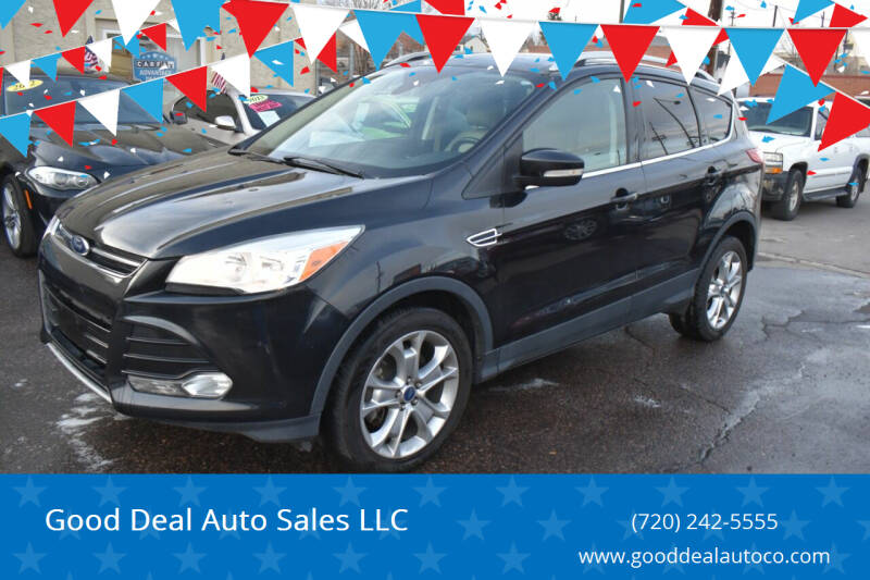 2014 Ford Escape for sale at Good Deal Auto Sales LLC in Denver CO