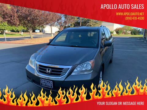 2008 Honda Odyssey for sale at APOLLO AUTO SALES in Sacramento CA