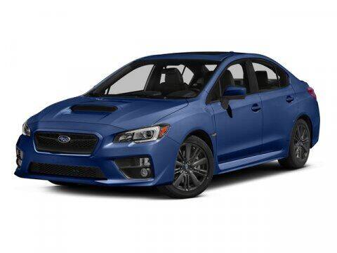 2015 Subaru WRX for sale at Uftring Weston Pre-Owned Center in Peoria IL