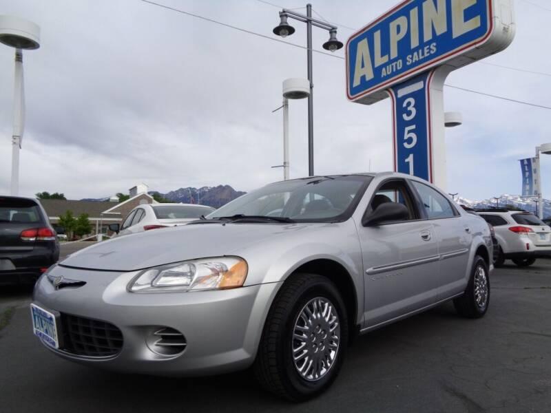 2001 Chrysler Sebring for sale at Alpine Auto Sales in Salt Lake City UT