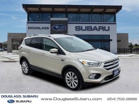 2017 Ford Escape for sale at Douglass Automotive Group - Douglas Subaru in Waco TX