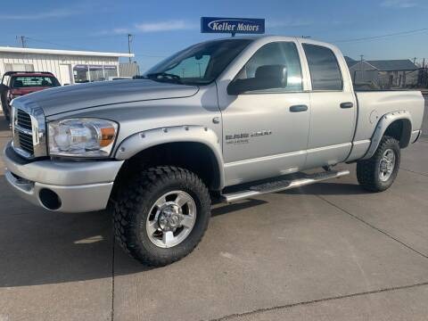 2006 Dodge Ram Pickup 2500 for sale at Keller Motors in Palco KS