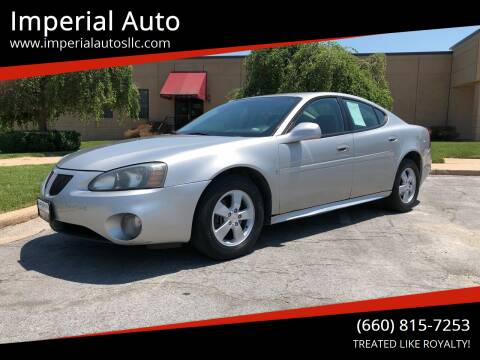 2008 Pontiac Grand Prix for sale at Imperial Auto, LLC in Marshall MO