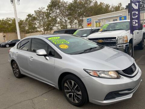 2013 Honda Civic for sale at Black Diamond Auto Sales Inc. in Rancho Cordova CA