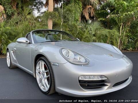 2009 Porsche Boxster for sale at Autohaus of Naples in Naples FL