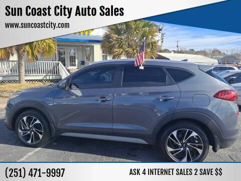 2019 Hyundai Tucson for sale at Sun Coast City Auto Sales in Mobile AL