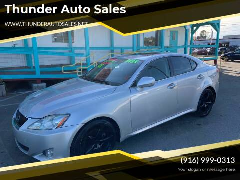 2008 Lexus IS 250 for sale at Thunder Auto Sales in Sacramento CA