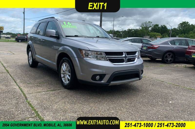 2016 Dodge Journey for sale at Exit 1 Auto in Mobile AL