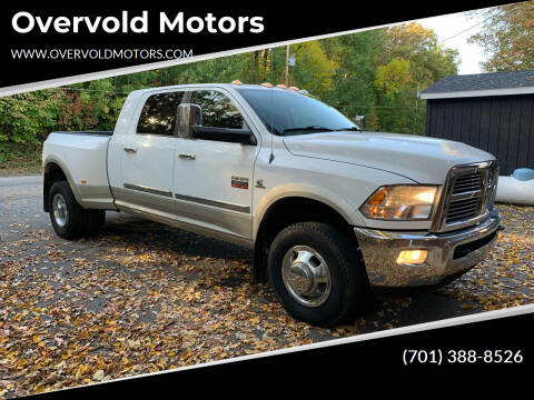 2010 Dodge Ram Pickup 3500 for sale at Overvold Motors in Detriot Lakes MN