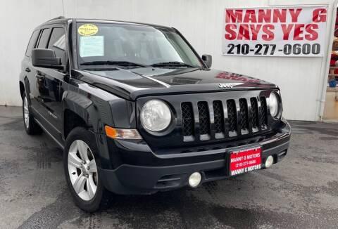 2014 Jeep Patriot for sale at Manny G Motors in San Antonio TX