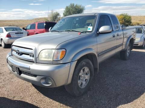 2003 Toyota Tundra for sale at PYRAMID MOTORS - Pueblo Lot in Pueblo CO