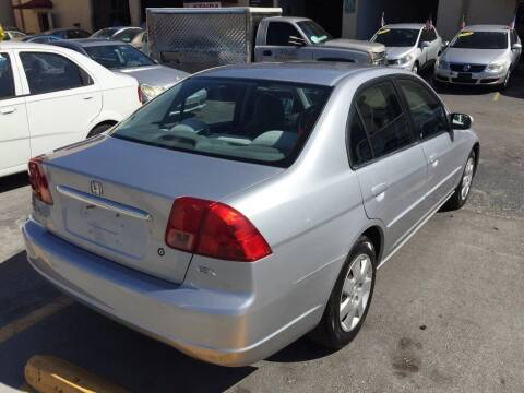 2002 Honda Civic for sale at Bri's Sales, Service, & Imports in Long Beach CA