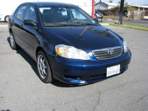 2007 Toyota Corolla for sale at M&N Auto Service & Sales in El Cajon CA