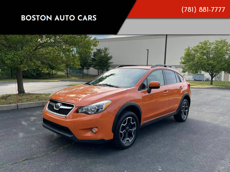 2013 Subaru XV Crosstrek for sale at Boston Auto Cars in Dedham MA