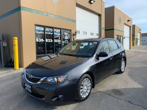 2008 Subaru Impreza for sale at REDA AUTO PORT INC in Villa Park IL