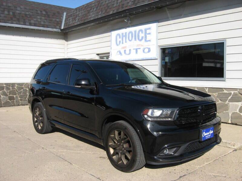 2017 Dodge Durango for sale at Choice Auto in Carroll IA