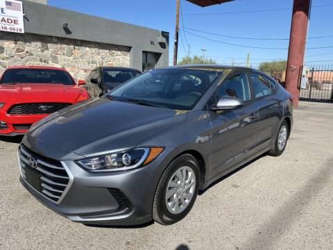 2017 Hyundai Elantra for sale at American Automotive , LLC in Tucson AZ
