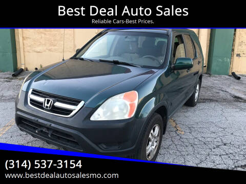2003 Honda CR-V for sale at Best Deal Auto Sales in Saint Charles MO