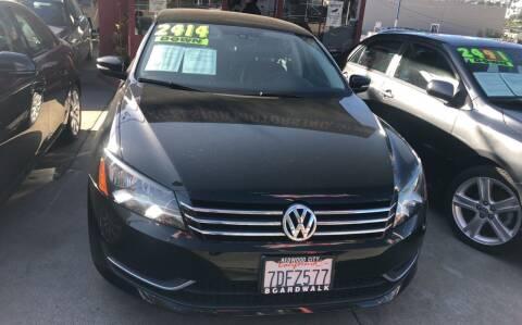 2014 Volkswagen Passat for sale at Excelsior Motors , Inc in San Francisco CA