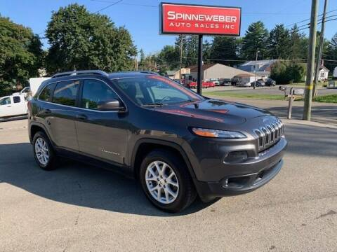 2017 Jeep Cherokee for sale at SPINNEWEBER AUTO SALES INC in Butler PA