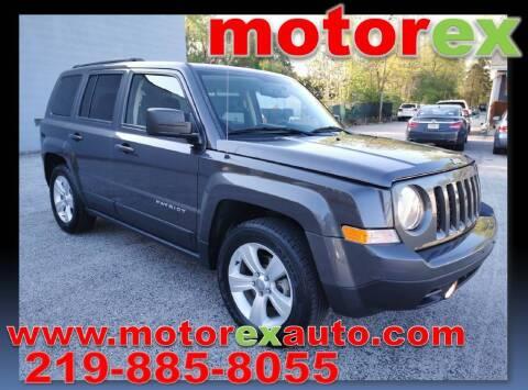 2015 Jeep Patriot for sale at Motorex Auto Sales in Schererville IN