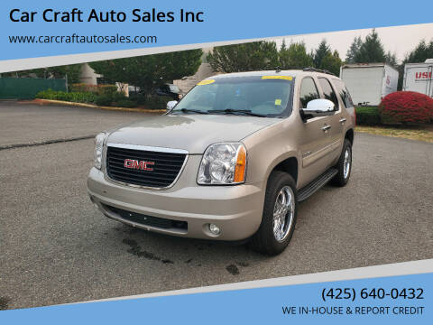 2009 GMC Yukon for sale at Car Craft Auto Sales Inc in Lynnwood WA