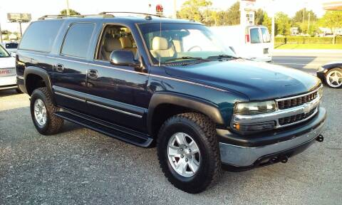 2004 Chevrolet Suburban for sale at Pinellas Auto Brokers in Saint Petersburg FL