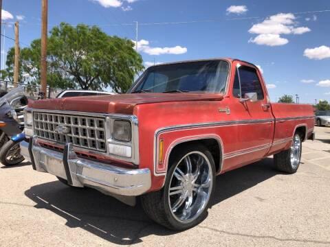1980 Chevrolet Silverado 1500 for sale at Eastside Auto Sales in El Paso TX