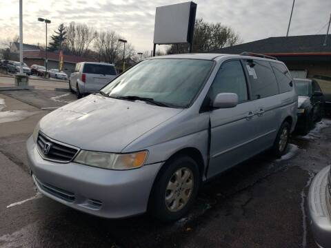 2004 Honda Odyssey for sale at Geareys Auto Sales of Sioux Falls, LLC in Sioux Falls SD