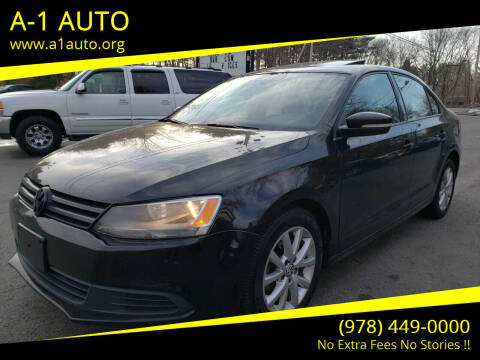 2012 Volkswagen Jetta for sale at A-1 Auto in Pepperell MA
