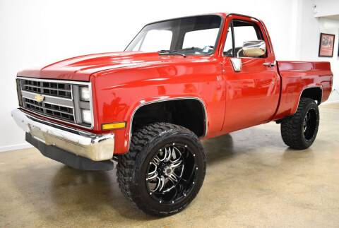1981 Chevrolet C/K 10 Series for sale at Thoroughbred Motors in Wellington FL