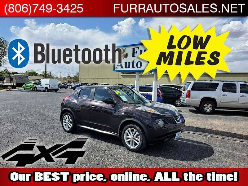 2014 Nissan JUKE for sale at FURR AUTO SALES in Lubbock TX