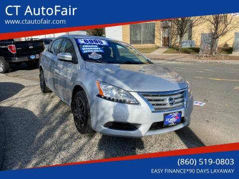 2015 Nissan Sentra for sale at CT AutoFair in West Hartford CT