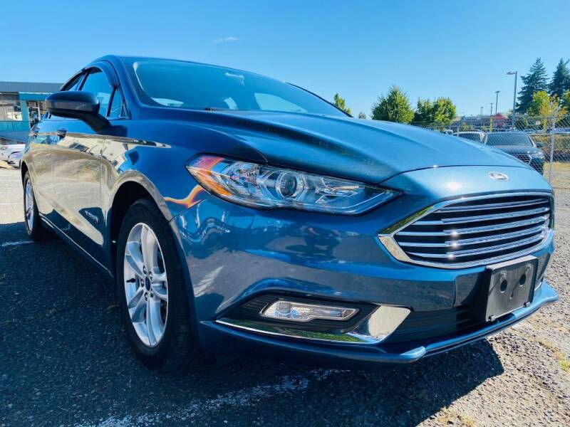2018 Ford Fusion Hybrid for sale at House of Hybrids in Burien WA