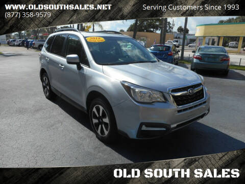 2018 Subaru Forester for sale at OLD SOUTH SALES in Vero Beach FL