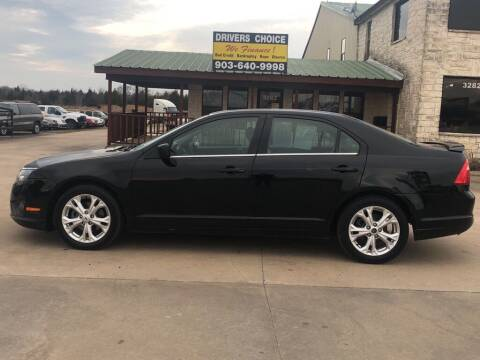 2012 Ford Fusion for sale at Driver's Choice Sherman in Sherman TX