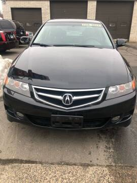 2008 Acura TSX for sale at Story Brothers Auto in New Britain CT