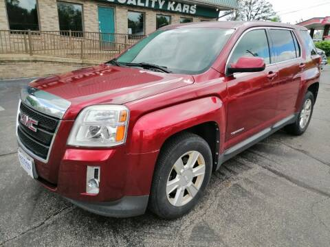 2011 GMC Terrain for sale at KRIS RADIO QUALITY KARS INC in Mansfield OH