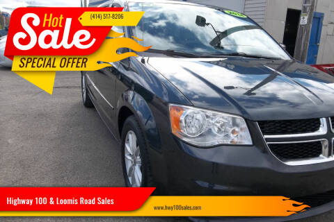 2014 Dodge Grand Caravan for sale at Highway 100 & Loomis Road Sales in Franklin WI