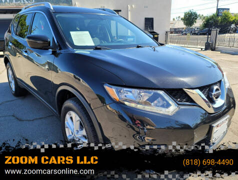 2016 Nissan Rogue for sale at ZOOM CARS LLC in Sylmar CA