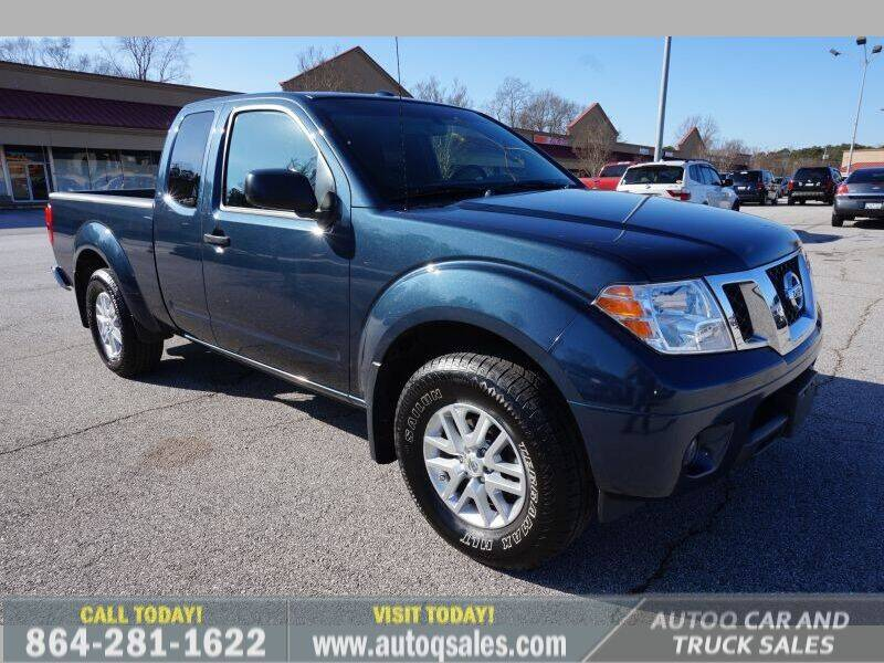 2017 Nissan Frontier for sale at Auto Q Car and Truck Sales in Mauldin SC