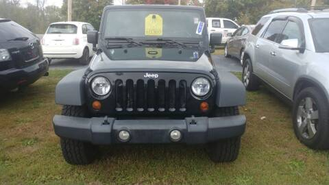 2010 Jeep Wrangler for sale at Pool Auto Sales Inc in Spencerport NY