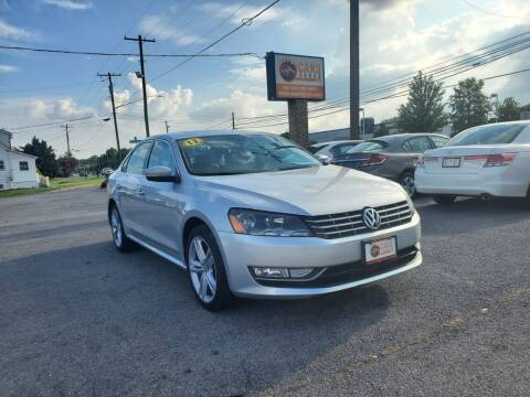 2013 Volkswagen Passat for sale at Cars 4 Grab in Winchester VA