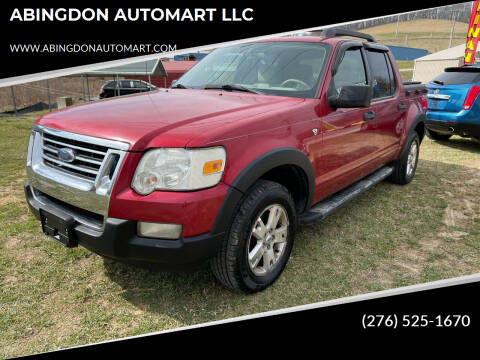 2007 Ford Explorer Sport Trac for sale at ABINGDON AUTOMART LLC in Abingdon VA