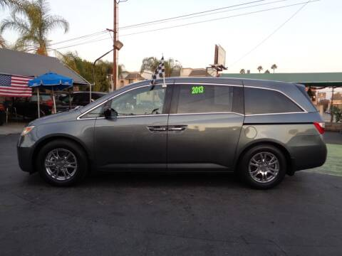 2013 Honda Odyssey for sale at Pauls Auto in Whittier CA