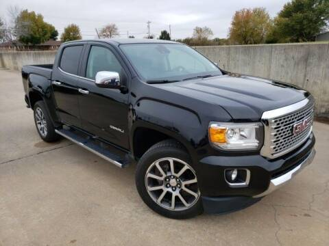 2017 GMC Canyon for sale at BOB HART CHEVROLET in Vinita OK
