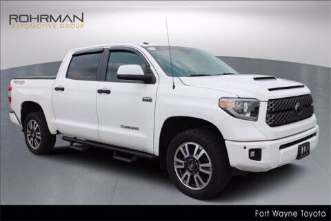 2018 Toyota Tundra for sale at BOB ROHRMAN FORT WAYNE TOYOTA in Fort Wayne IN