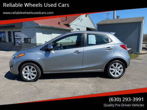 2012 Mazda MAZDA2 for sale at Reliable Wheels Used Cars in West Chicago IL