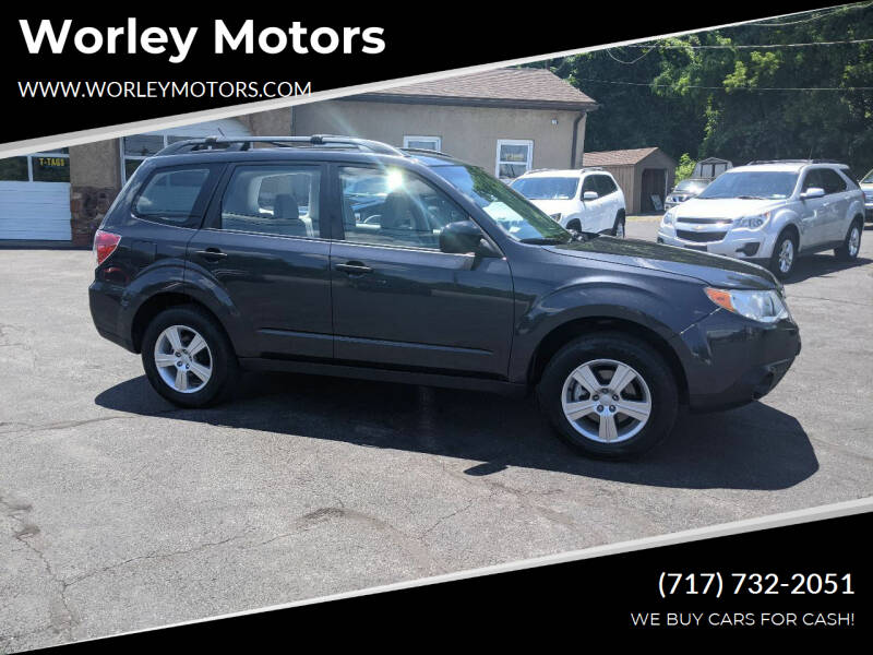 2011 Subaru Forester for sale at Worley Motors in Enola PA