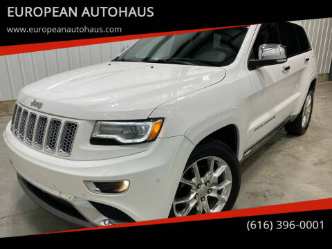 2014 Jeep Grand Cherokee for sale at EUROPEAN AUTOHAUS in Holland MI